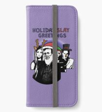 Holi-SLAY Greetings - BtVS iPhone Wallet/Case/Skin