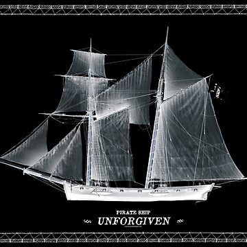 Pirate Ship 'UNFORGIVEN' by tonyfernandes1