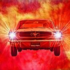 Mustang Horse Power by DreamGardenArt