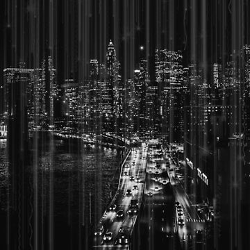 New York City at Night by mindydidit