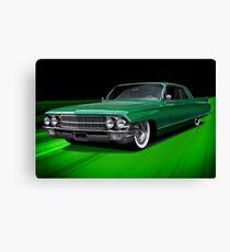 1962 Cadillac Custom Coupe DeVille Canvas Print