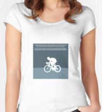 Bradley Wiggins Women's Fitted Scoop T-Shirt