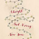 A Bright and Merry New Year by Sybille Sterk