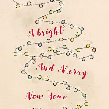 A Bright and Merry New Year by MagpieMagic