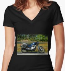 Iron Horse Women's Fitted V-Neck T-Shirt