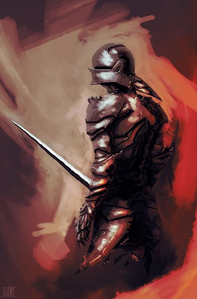Gothic Knight by dlikt