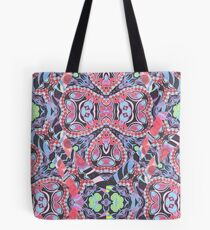 Pencil Print Diagonals Fall Into Winter Design Collection by Green Bee Mee Tote Bag