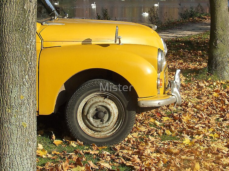 Yellow Car by Mister