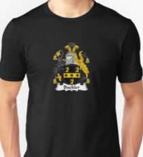 Buckler Coat of Arms - Family Crest Shirt Slim Fit T-Shirt