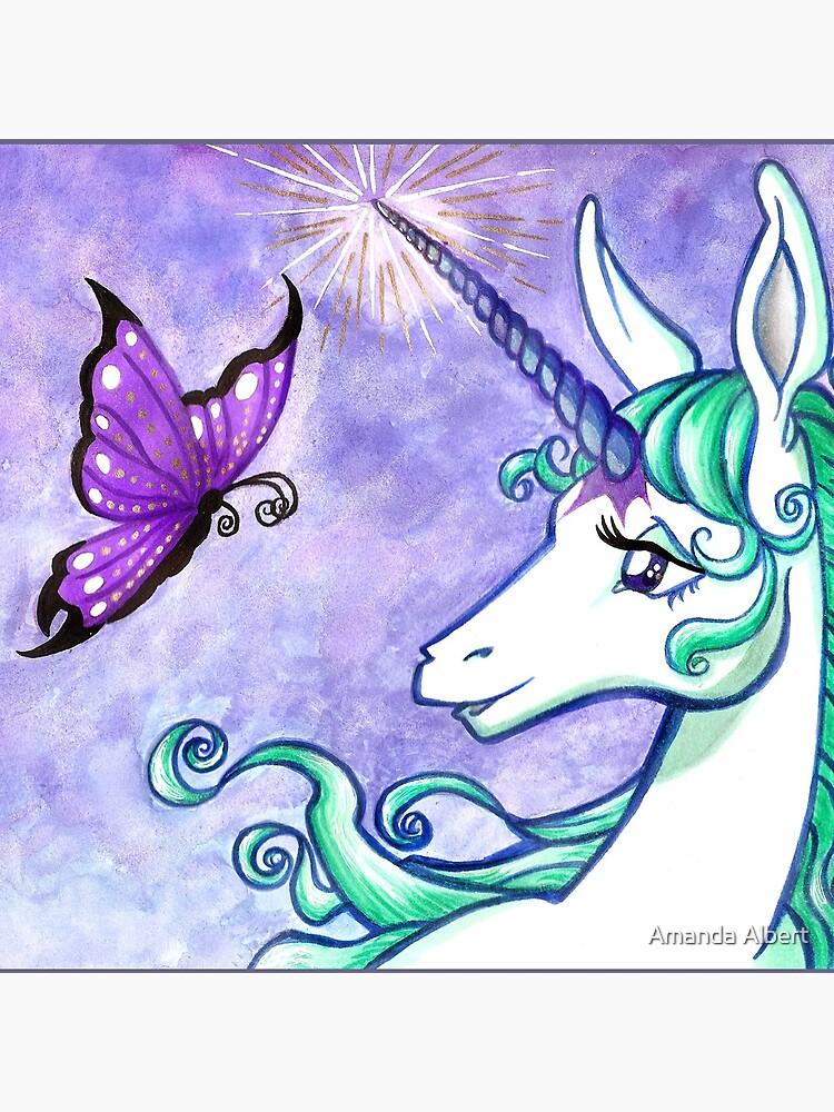 The Last Unicorn by BeAwsmMakeStuff