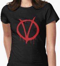 V for Vendetta - Alan Moore Women's Fitted T-Shirt