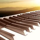 Piano Keys (and sunset) by Jerald Simon (Music Motivation - musicmotivation.com) by jeraldsimon