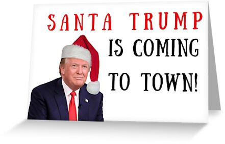 Trump Christmas Card Xmas Card Happy Holidays Party Invitations