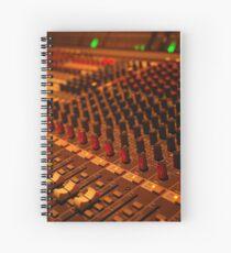 detail of sound mixer Spiralblock