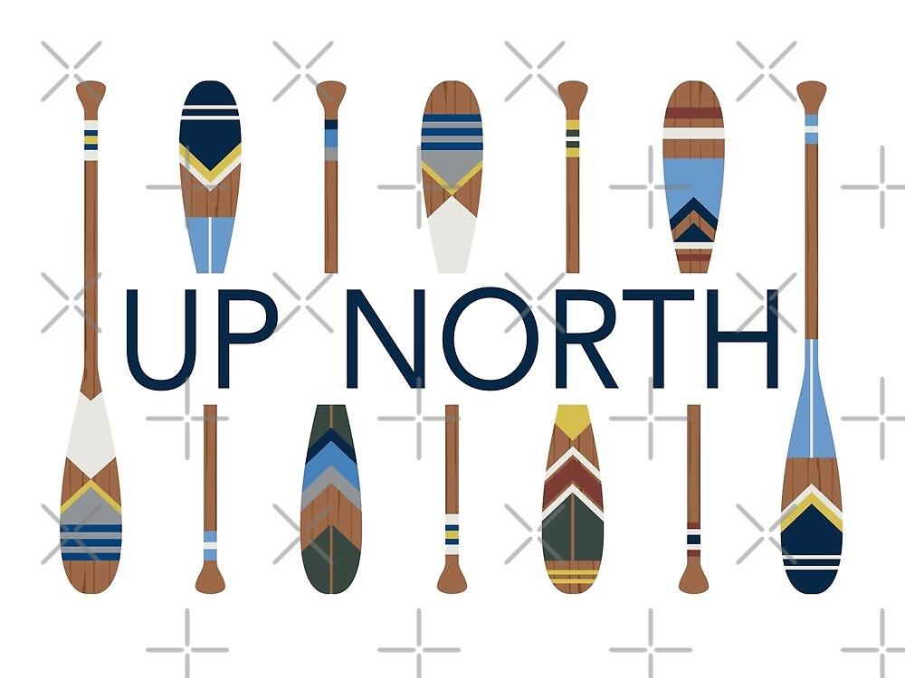 «Hasta el norte con paletas pintadas» de GreatLakesLocal