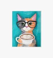 Kittens Latte der Liebe Galeriedruck