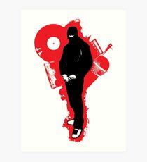 The New Ninja - A Art Print