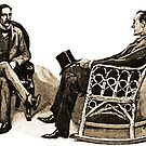 Sherlock Holmes and Dr. John H. Watson in the Stockbroker's Clerk by InfernoFilm