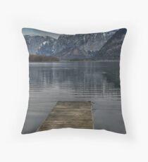 Edge of tranquility, Hallstatt Throw Pillow