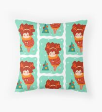 Lovely ornaments Throw Pillow
