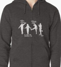 Arrested Development Bluth Family Chicken Dance Zipped Hoodie