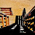 Stairs to Beach by CapeCodWave