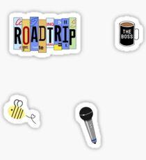 Roadtrip Rye - Sticker Pack Sticker