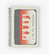 Awesome Mix Spiral Notebook