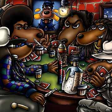 The Poker Doggs by Romaris92