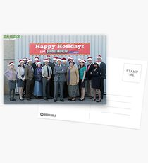 Christmas at The Office Postcards