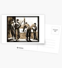 Sherlock Holmes and Dr. John H. Watson in the Adventure of the Blue Carbuncle Postcards