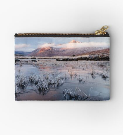 Advance Of The Ice Zipper Pouch