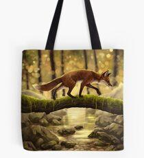 Fox Stroll Tote Bag