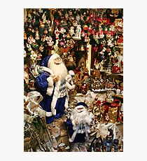 Time For Santa  Photographic Print
