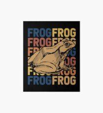 Frog amphibians Art Board