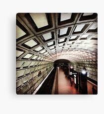Washington DC Subway Station Canvas Print