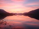 Sunset From Ballachulish by Mark Greenwood