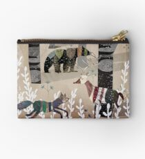 Forest In Sweater Studio Pouch