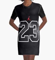 23 Graphic T-Shirt Dress
