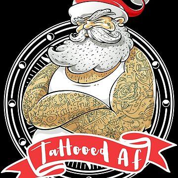 Real Santa Is Tattooed AF by LemoBoy