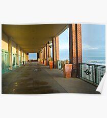 Convention Hallway, Asbury Park Poster