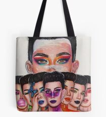 James Charles: Unleash Your Inner Artist Series Tote Bag