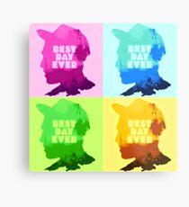 Mac Miller [artwork rapper] - POP-ART Metal Print