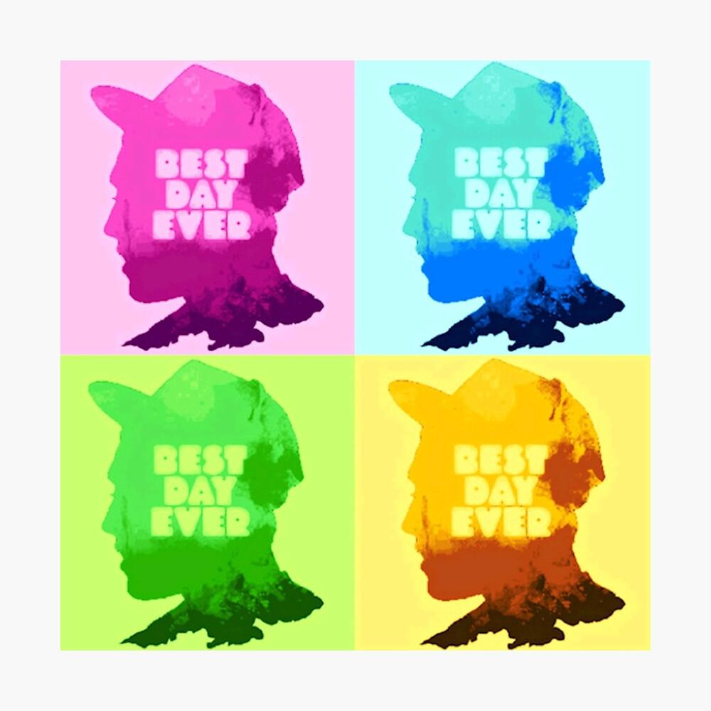 Mac Miller [rapero de arte] - POP-ART Lámina fotográfica