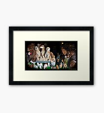 Cute Toys Framed Print