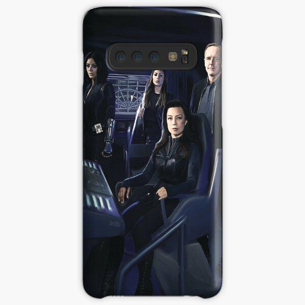 Agents Johnson, Rodriguez, May, Coulson Coque rigide Samsung Galaxy