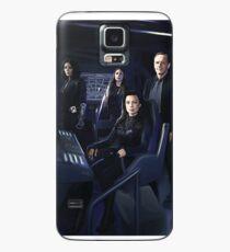 Funda/vinilo para Samsung Galaxy Agentes Johnson, Rodriguez, Mayo, Coulson