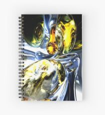 Lost in Space Abstract Spiral Notebook