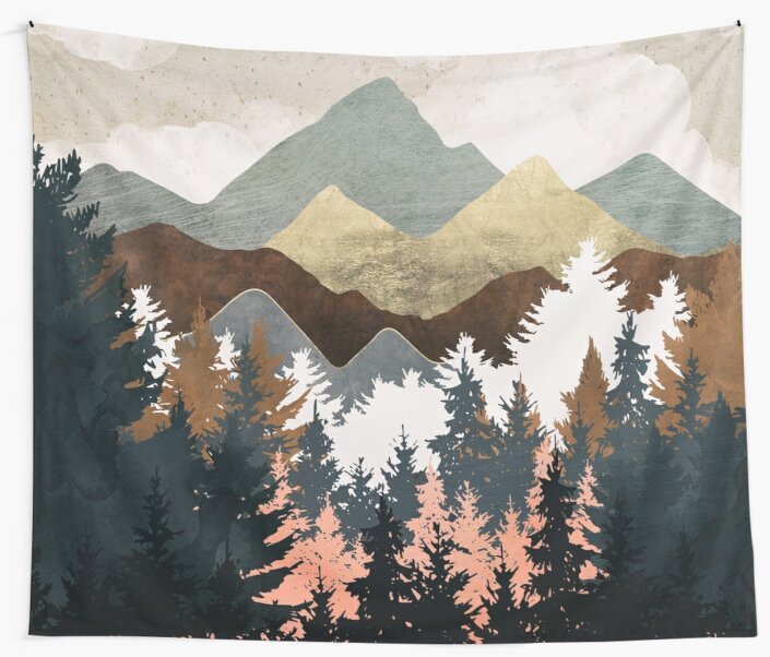 Forest View by spacefrogdesign