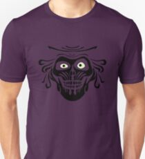 Hatbox Ghost - Wallpaper-Style T-Shirt